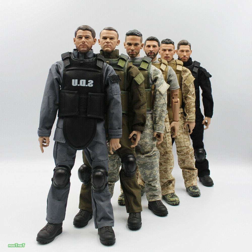 1/6 Scale Soldier figure dolls