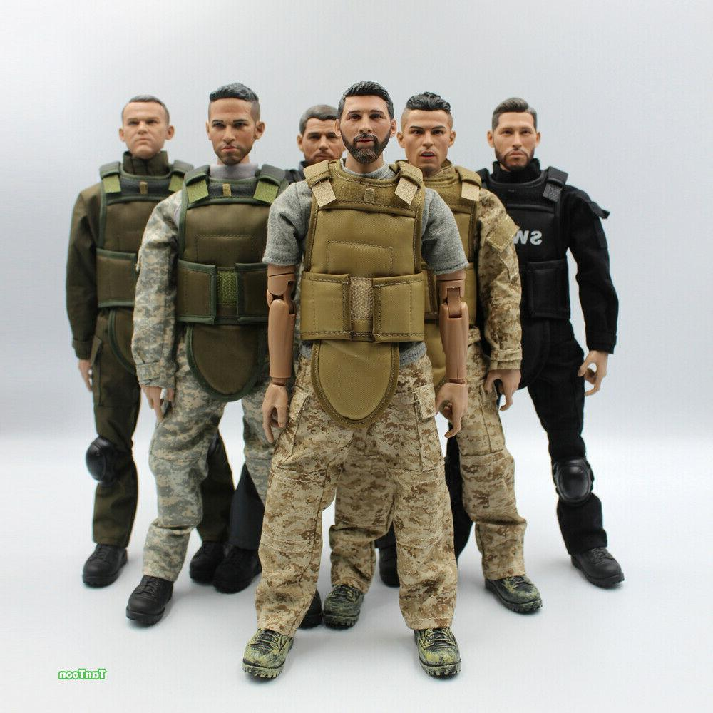 1 6 scale 12inch 30cm swat soldier