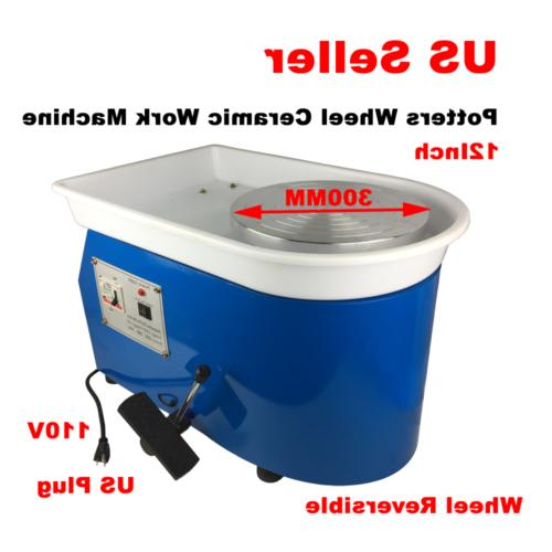 110v continuously potters wheel ceramic work machine