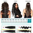 Orgshine 12/18/20/24/26/32''Long Side Parting Deep Wave Lace