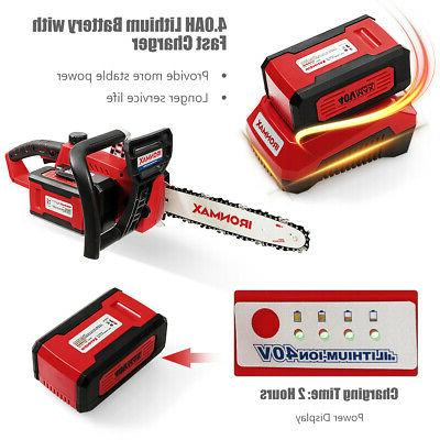 12-Inch 40V with Lithium-Ion and