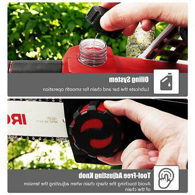 12-Inch 40V Chainsaw with 4.0Ah Lithium-Ion and Charger
