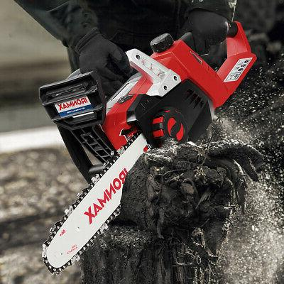 12-Inch Chainsaw with Battery and Charger