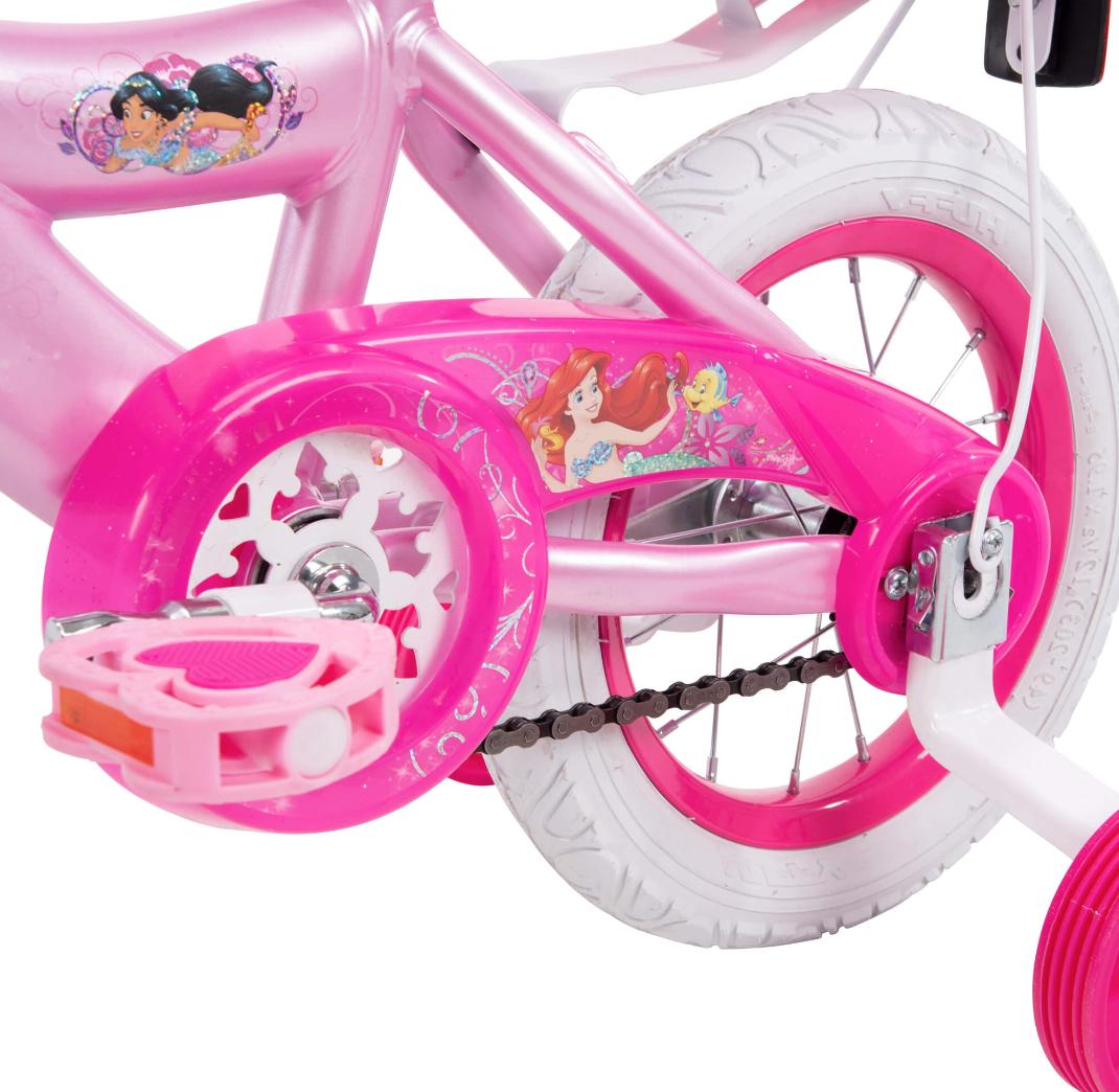 12 Inch Disney Pink for 7 Pink Bicycle