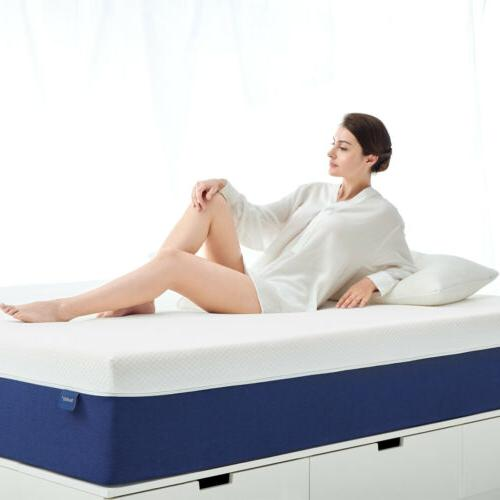 12 Inch King Size Memory Foam Mattress More Breathable Bed C