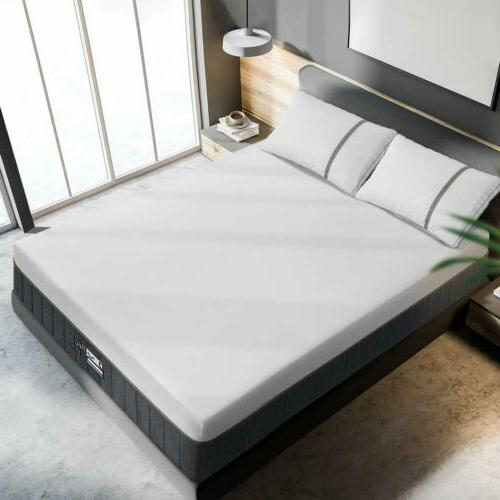 BedStory 12 Inch Memory Foam Queen Bamboo Charcoal Bed Fast