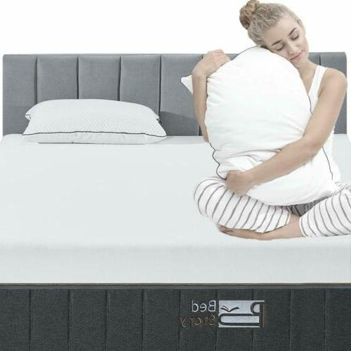 BedStory 12 Memory Queen Bamboo Charcoal Fast