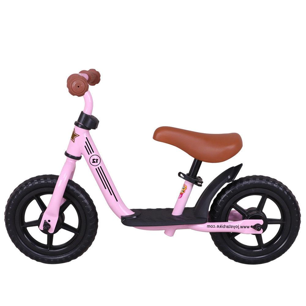 JoyStar 10/12 Inch Kids Balance Bike No Pedal Bicycle for 1-