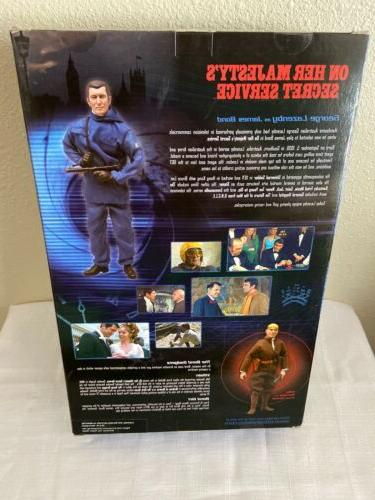 12inch JAMES BOND 007 ON HER MAJESTY'S SERVICE SIDESHOW NEW