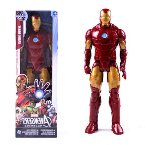 12inch The Superhero Iron Man Action Figure with Kid Toy