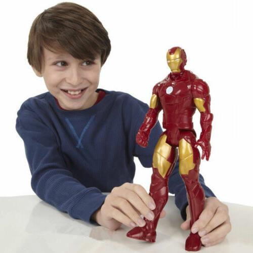 12inch Iron Man PVC Figure with Box Toy Gift