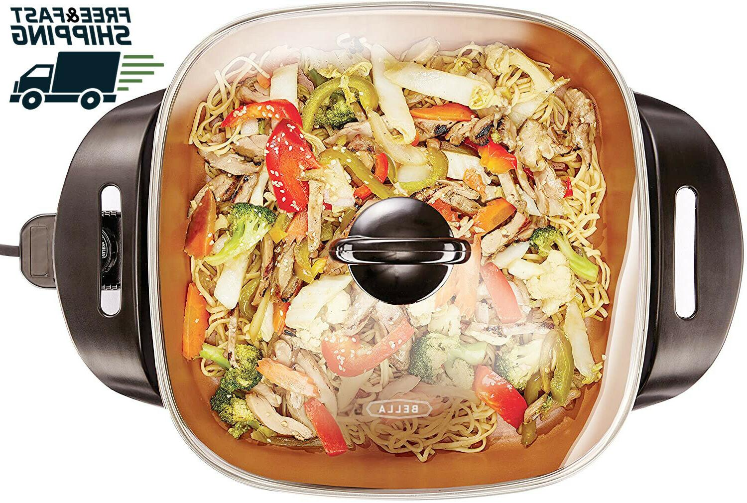 14607 12 x 12 inch electric skillet