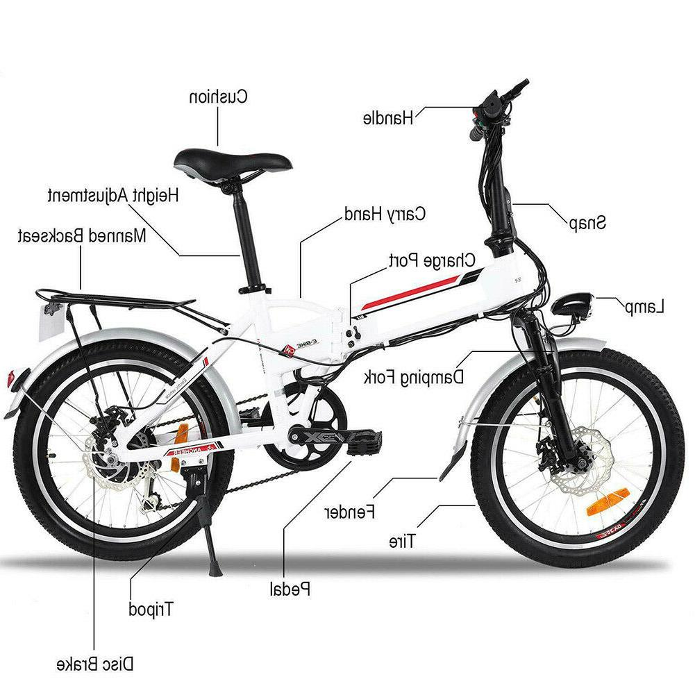 20'' Mountain Cycling eBike Speed Sale