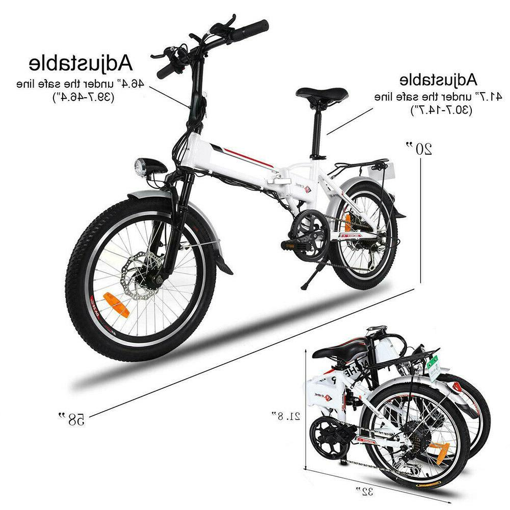 20'' Mountain City Cycling Bicycle eBike Sale