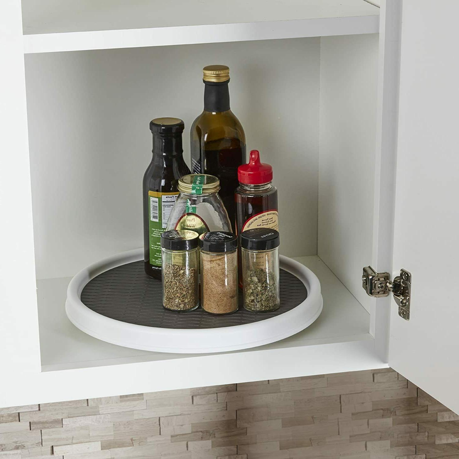 Non-Skid Pantry Cabinet Susan Turntable,