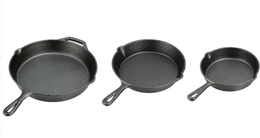 3 12 Inch Stove Fry Cookware