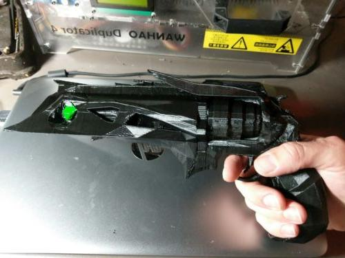 3D Printed Thorn Cannon From Destiny