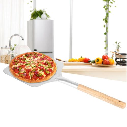 9/12inch Aluminum Pizza Kitchen Cooking Wood
