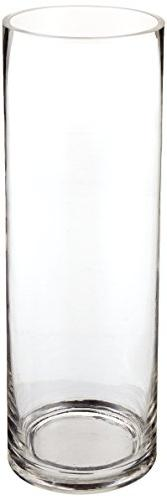 "Candles4Less - 4"" x 12"" Clear Glass Cylinder Vase"