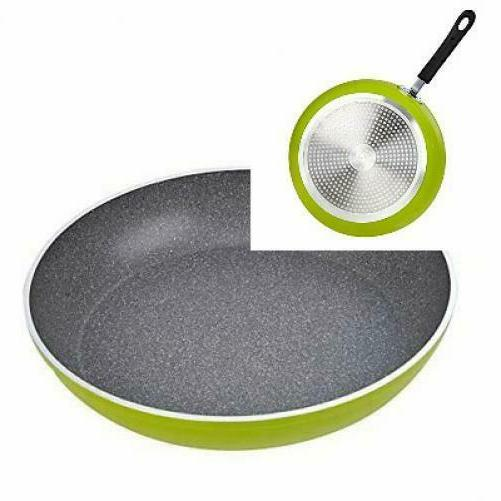 Cook N Home 12-Inch Frying Pan with Non-Stick Coating Induct