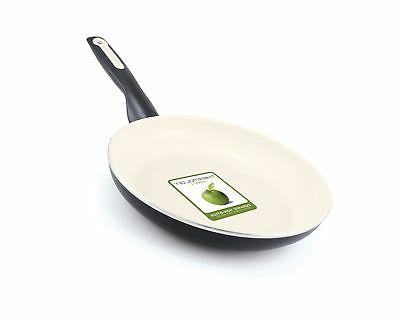 GreenPan Rio 12 Inch Ceramic Non-Stick Fry Pan, Black