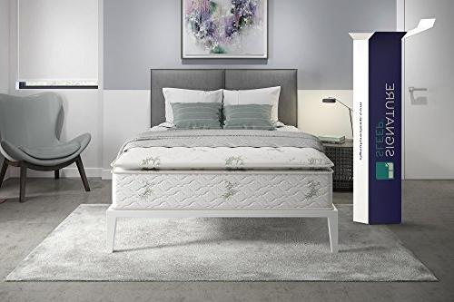 Signature Sleep Mattress, Mattress, Hybrid Coil Mattress, Soft,
