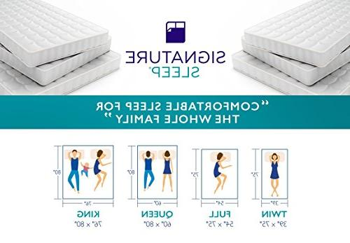 Signature Sleep Mattress, Inch Hybrid Cool