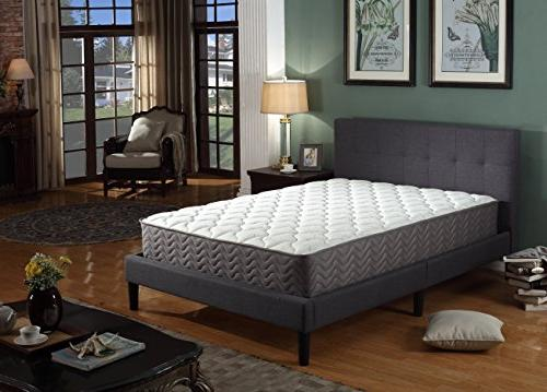 Swiss Ortho Inch Certified Independently Individually Coil Spring Contour Mattress