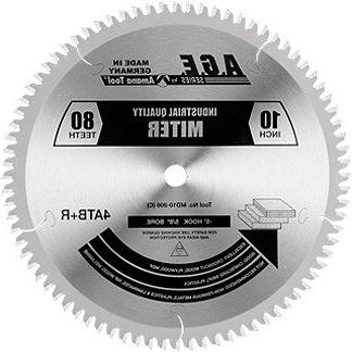 A.G.E. Series Heavy Duty Miter/Double 12-Inch x 100-Tooth ATB+R Bore Amana