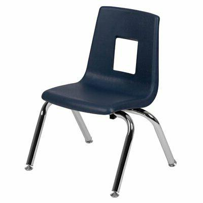 advantage student stack school chair 12 inch