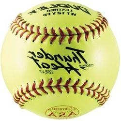 Dudley ASA Thunder Heat Fast Pitch Leather 12-Inch Soft Ball