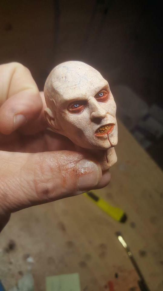 blade 2 jared head painted inch new