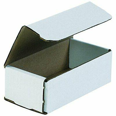 Boxes BFM1264 Corrugated Cardboard Mailers, 6 Tuck