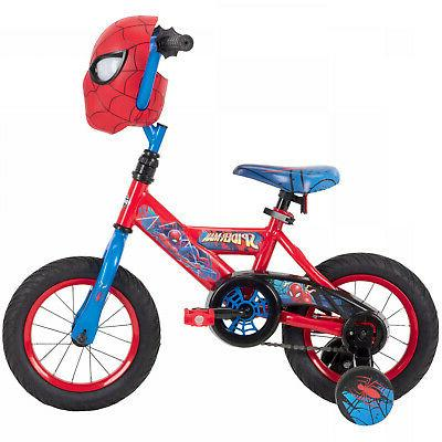 Boys Bicycle 12 Huffy Marvel Spider Bike For yrs Best Gift