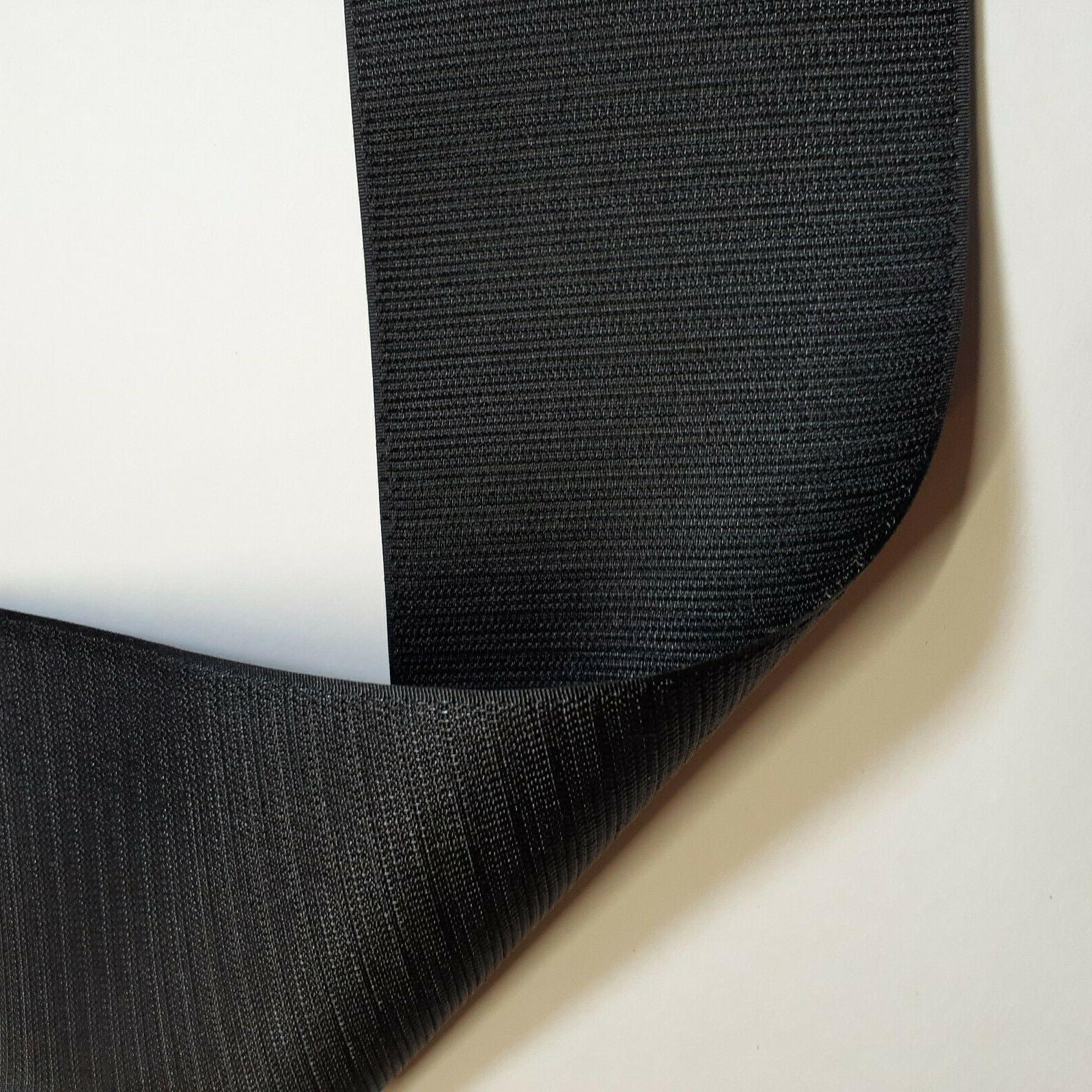 Velcro® Brand Inch Wide Black Loop On Type 12 Inches -