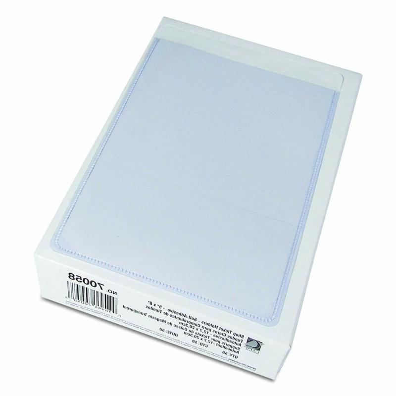 C-Line Holders, 5 Inches, Clear, 50