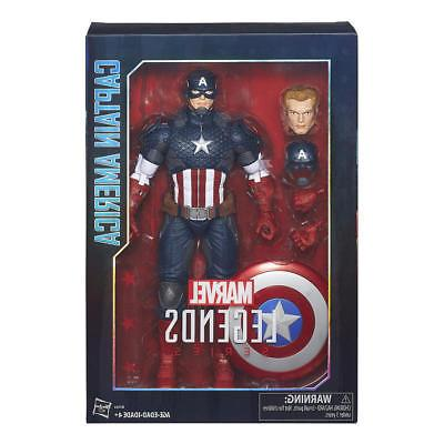 Captain America Marvel 12 Factory Sealed BOX