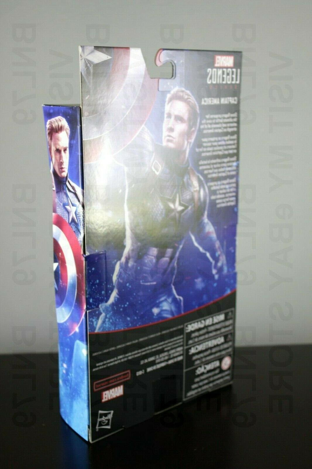CAPTAIN AMERICA Exclusive Legends Endgame