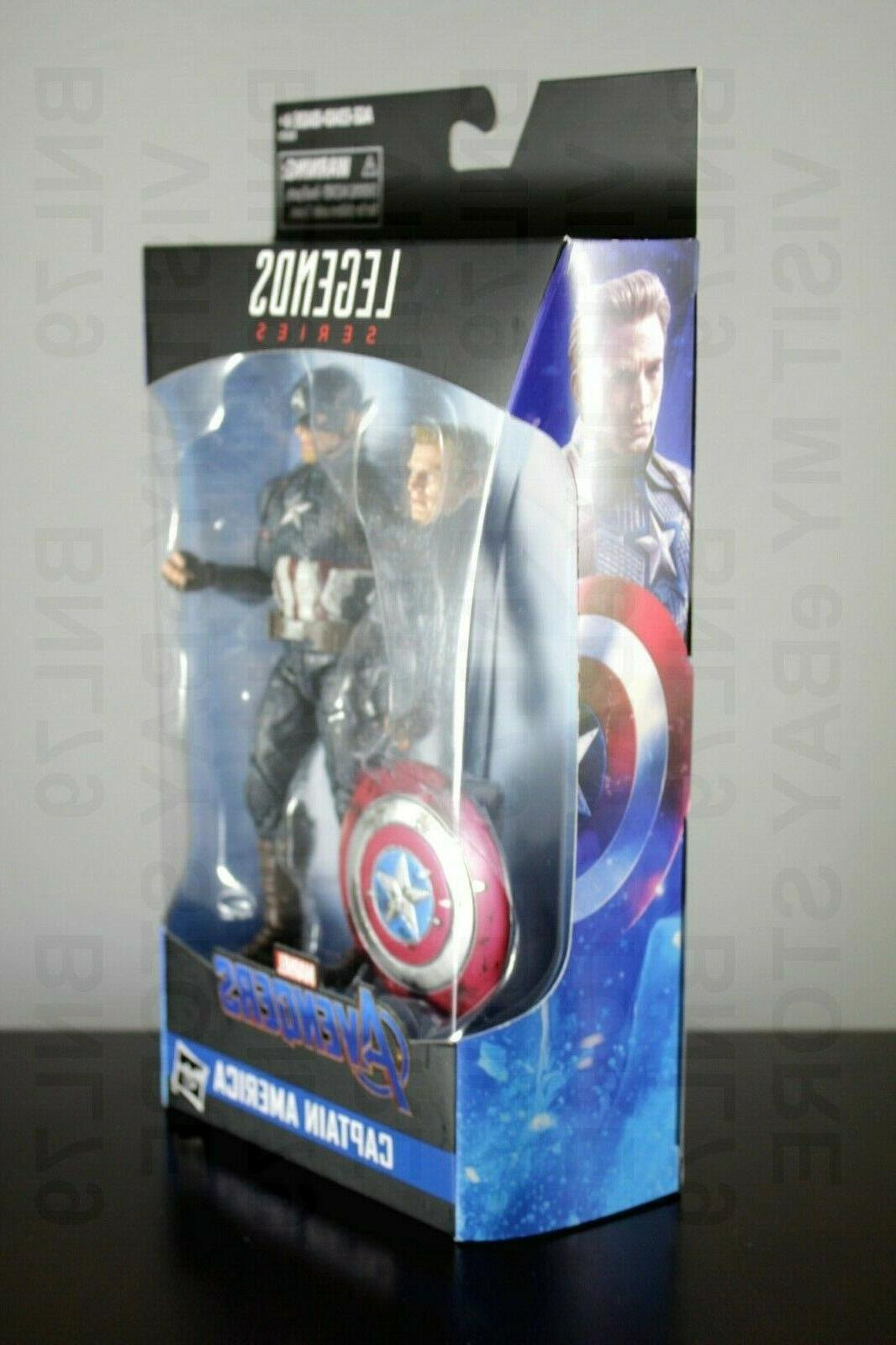 CAPTAIN AMERICA Worthy Exclusive Avengers Endgame
