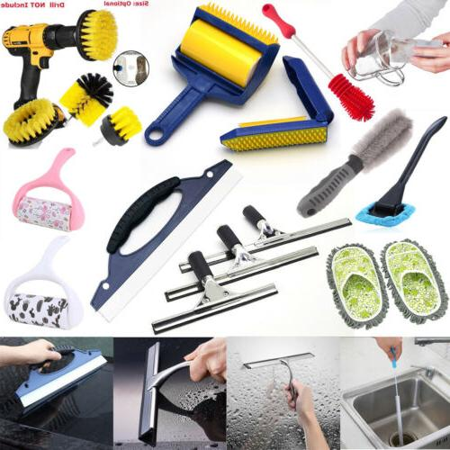 Car Window Squeegee Blade Household Bottle Dust Brushes Clea