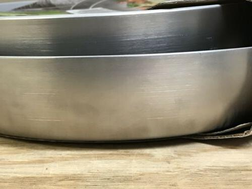 GreenPan CC000017-001 Venice Stainless Steel 10 & 12-Inch Set New Defects