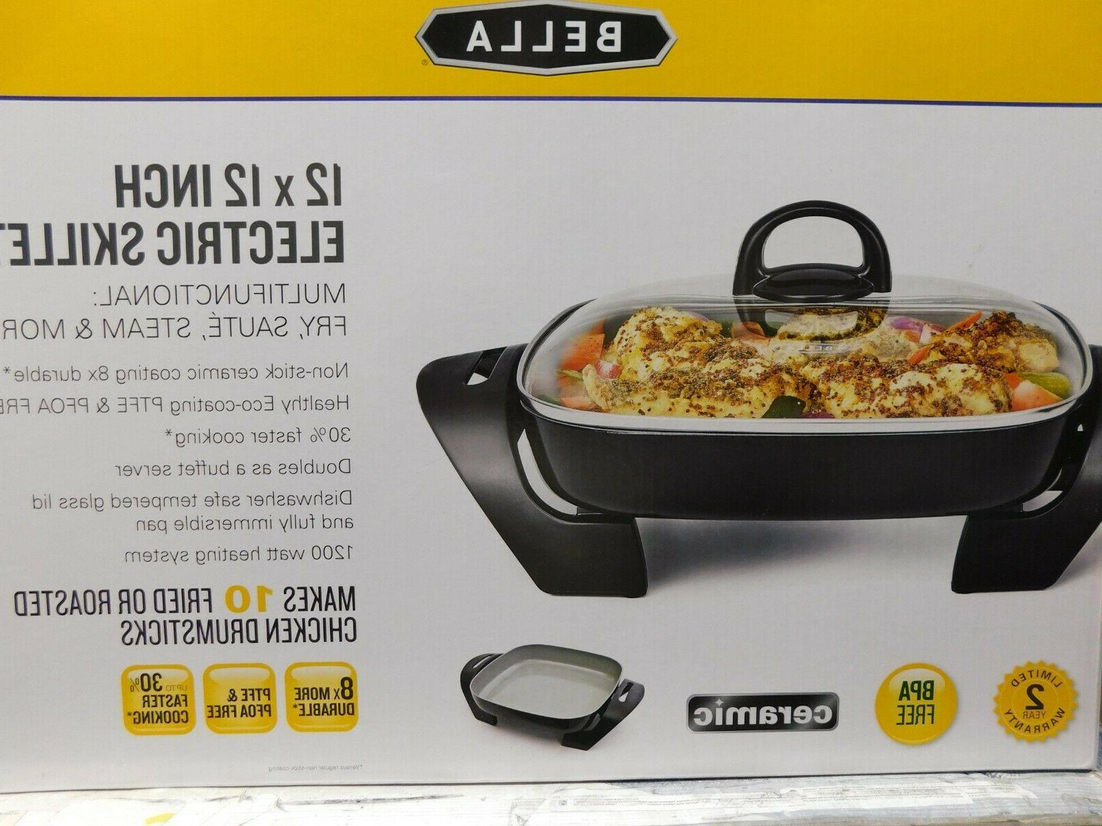 ceramic 12 x 12 inch electric skillet