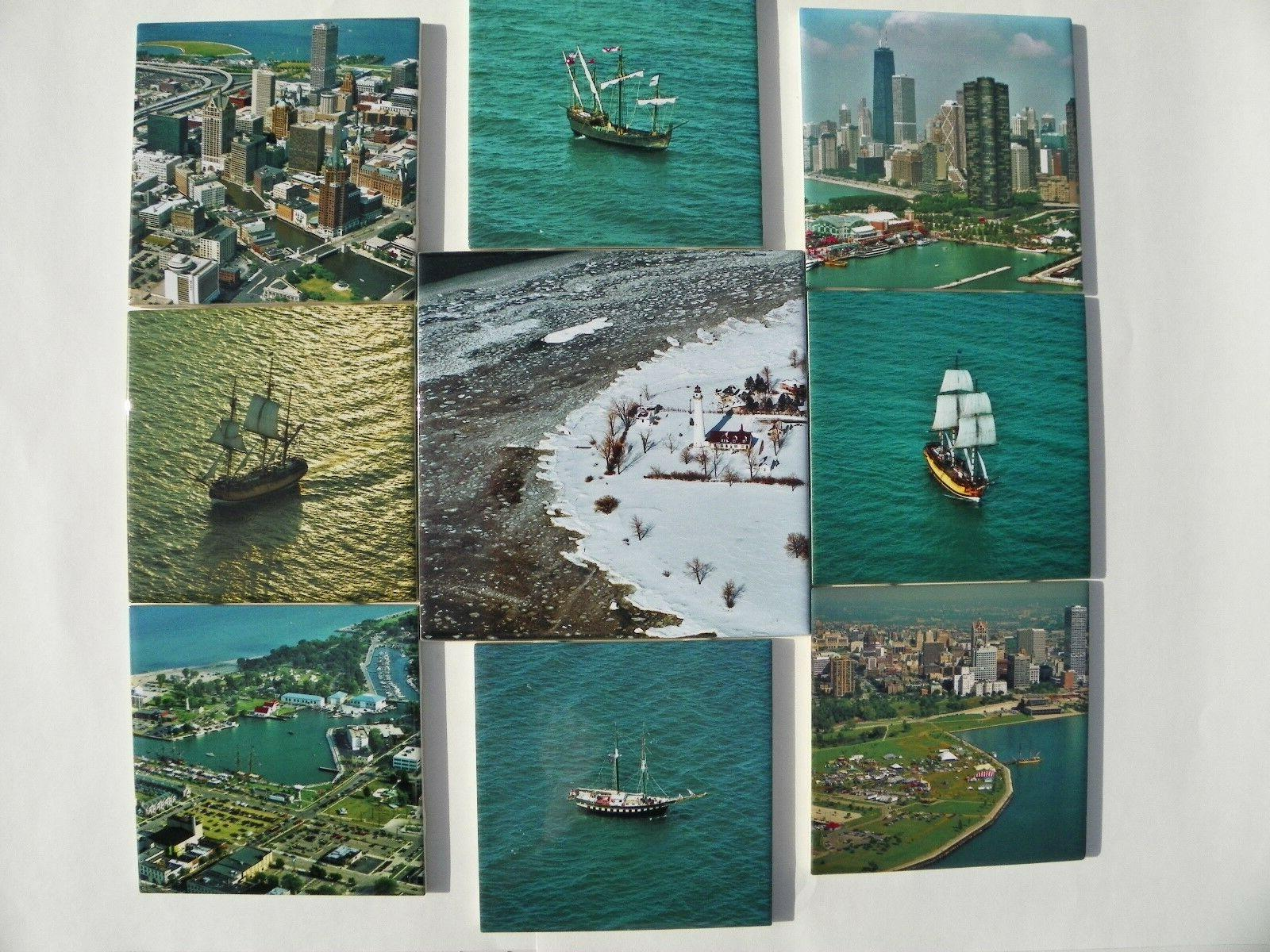 Ceramic Photo Tiles Tall Ships Gifts Sylvester