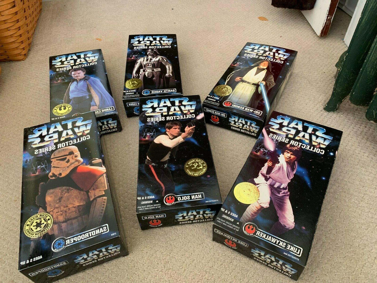 collector series 12 inch action figures set