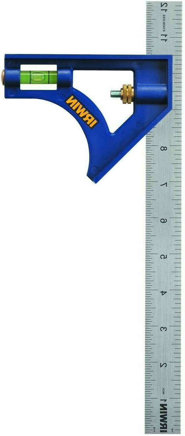 IRWIN Tools Combination Square, ABS-Body 12-Inch