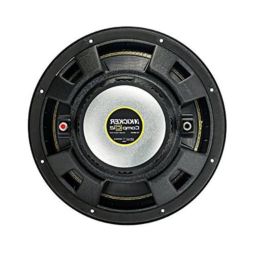 Kicker 12 Inch 1200 Watt 4 Single SVC Subwoofer