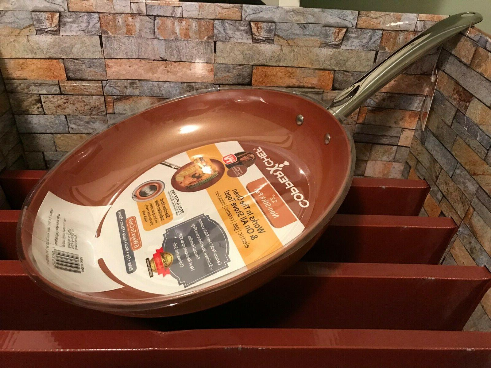 copper chef 12 inch nonstick fry pan