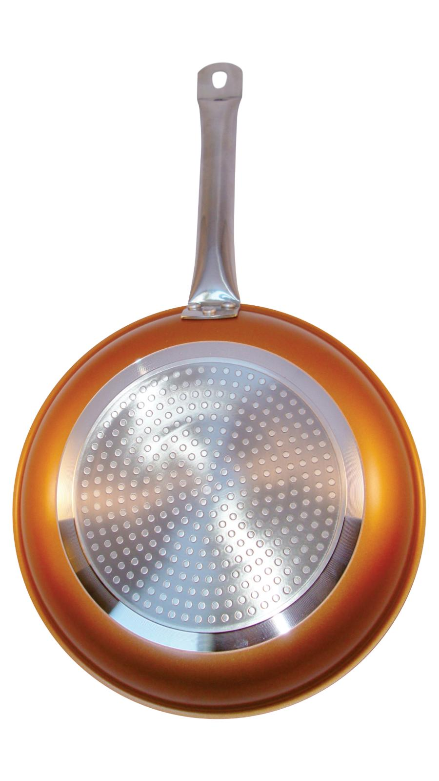 Copper Frying Pan inches With Ceramic Induction