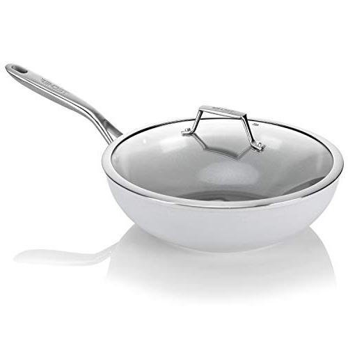Nonstick with Lid, , Grey/Silver