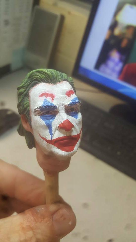 custom joker head for inch